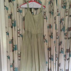 Vintage Sea foam Green floor length gown